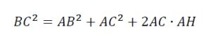 pitagora ottusi formula