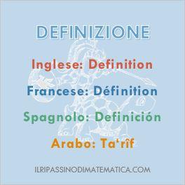 Glossario-Definizione