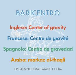 180430Glossario- Baricentro