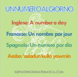 180507Un numero al giorno - start