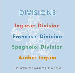180510Glossario -Divisione