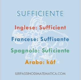 180516Glossario- Sufficiente