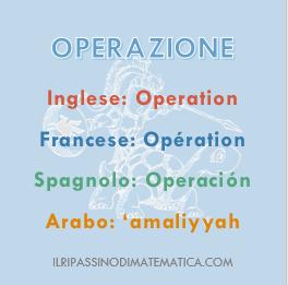 180525Glossario- Operazione