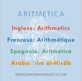 180527Glossario- Aritmetica