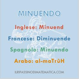 180530Glossario- Minuendo