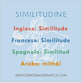 180616Glossario - Similitudine