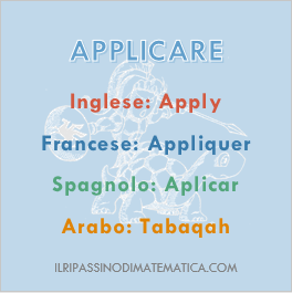 180619Glossario - Applicare