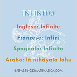 180622Glossario - Infinito