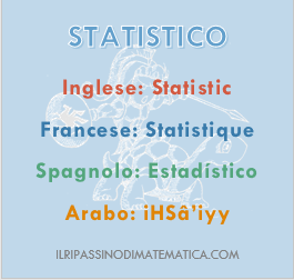180720Glossario - Statistico