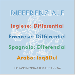 180728Glossario - Differenziale