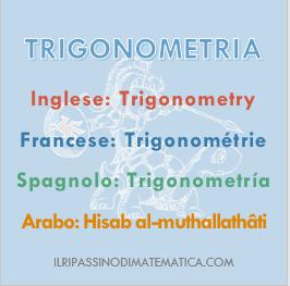 180730Glossario - Trigonometria