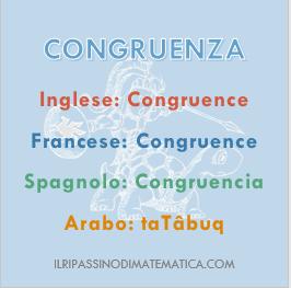 180806Glossario - Congruenza