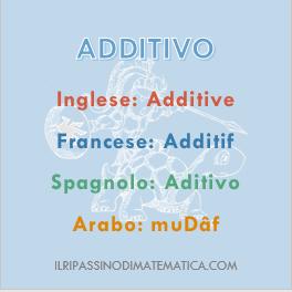 180814Glossario - Additivo