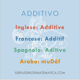 180814Glossario - Additivo