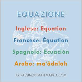 180820Glossario - Equazione