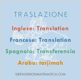 180830Glossario - Traslazione