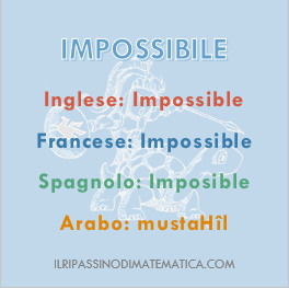 180907Glossario - Impossibile