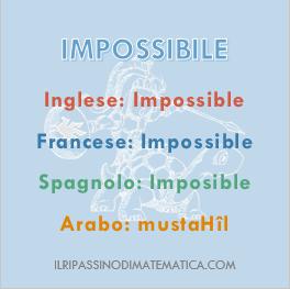 180907Glossario - Impossibile