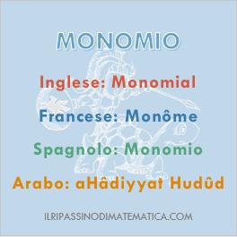 180915Glossario - Monomio