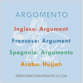 180923Glossario - Argomento