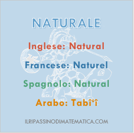 180925Glossario - Naturale