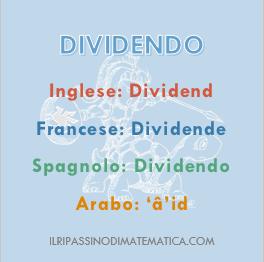 180928Glossario - Dividendo