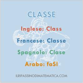 181017Glossario - Classe