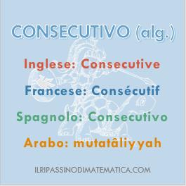 181101Glossario - Consecutivo